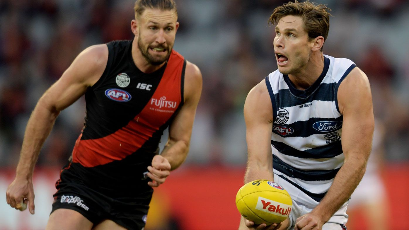 Bombers thrash Cats in AFL form reversal