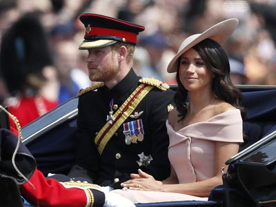 Meghan's Trooping the Colour debut, 2018