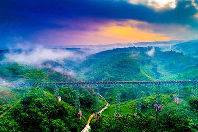 Argo Gede Railroad, Indonesia