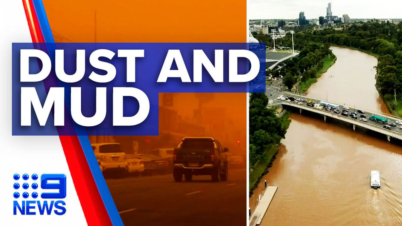 Dust storm leaves Melbourne a muddy mess: 9News Latest ...