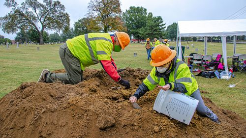At least one set of human remains were found at a cemetery where experts are searching for victims of the 1921 Tulsa race Massacre, an Oklahoma state archaeologist announced.