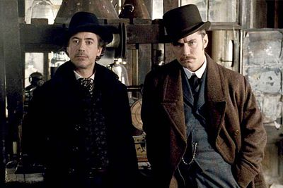 <b>Holmes and Watson:</b> Robert Downey Jr and Jude Law.<br/><br/><b>The case:</b> Director Guy Ritchie, known for his London gangster films, transformed the sleuth into an action-movie star. Downey Jr's Sherlock is a boxing pro who doesn't shy away from a bit of biffo.