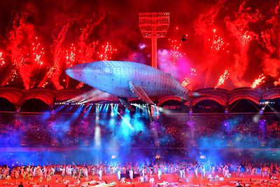 <strong>Commonwealth Games opening ceremony, April 4<br> </strong>