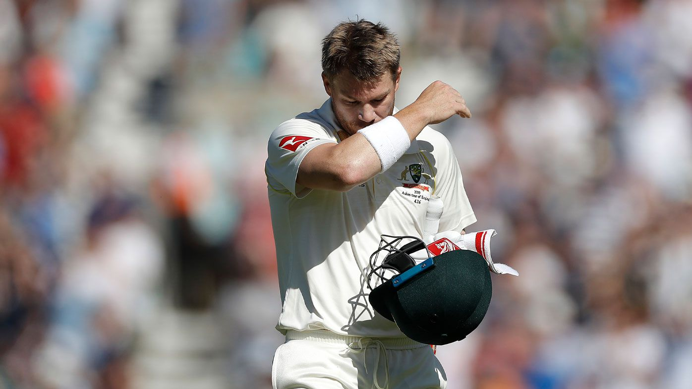 Warner is dismissed for the final time this series