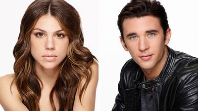 Abigail Deveraux (Kate Mansi) and Chad DiMera (Billy Flynn)