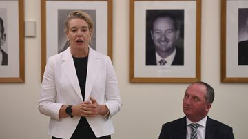 Nationals Deputy Bridget McKenzie has taken a swipe at Barnaby Joyce.