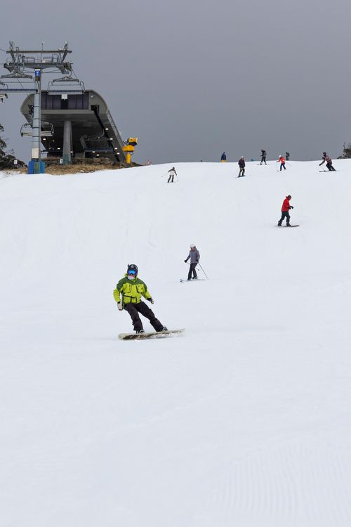 Cold temperatures in May led to the early opening of the Perisher season today.