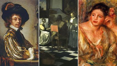 These paintings are currently missing and worth a fortune.