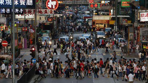 Hong Kong is a major export market for Australia.