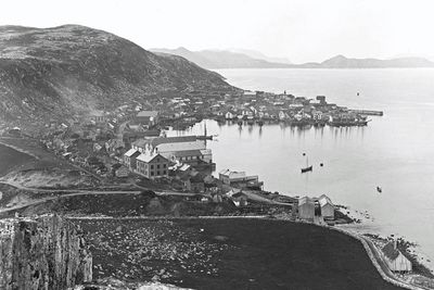 Hammerfest in Norway, 1889