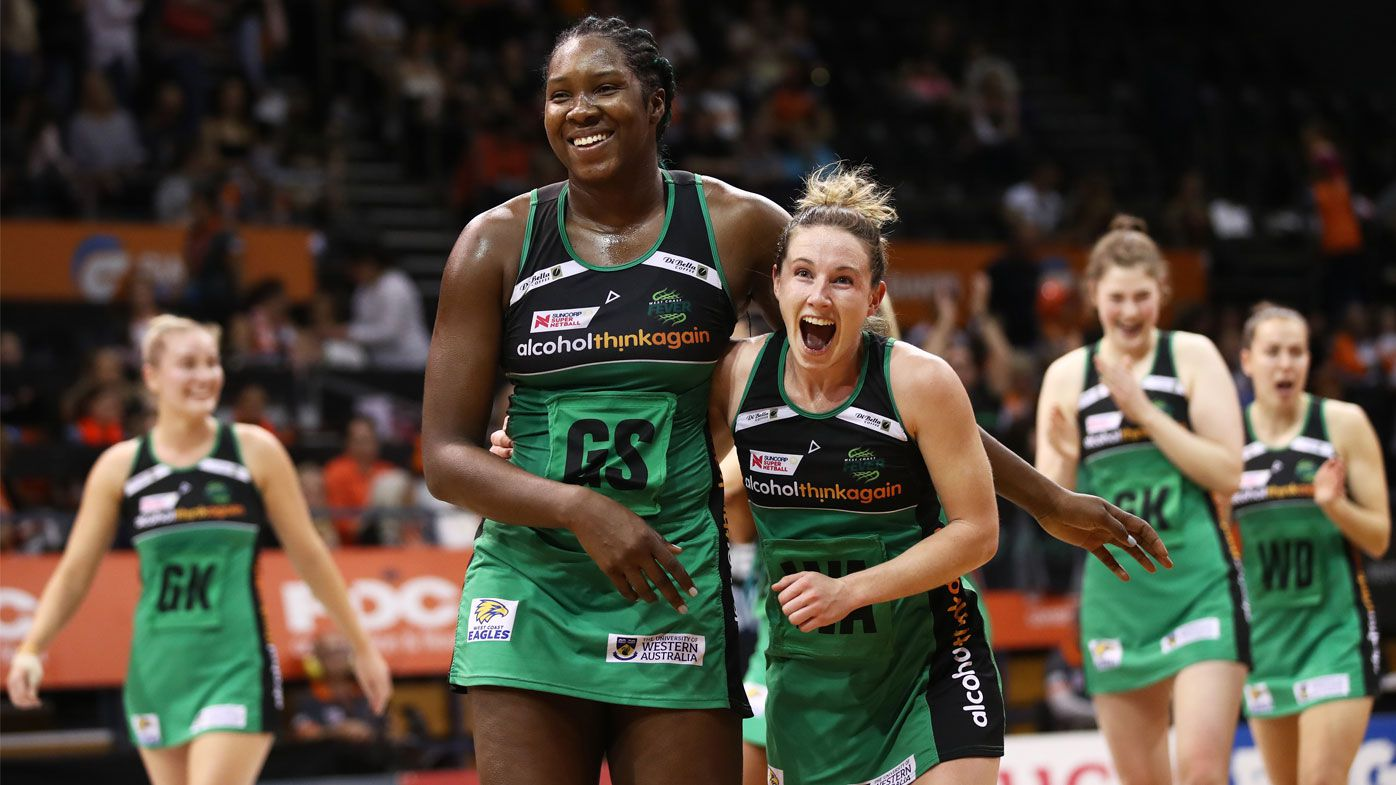 West Coast Fever beat GWS Giants to host netball final