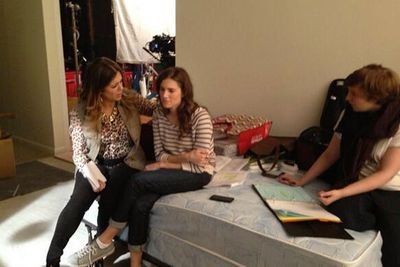<p>Oh <i>Girls,</i> how we've missed you!</p> <p>The third season of the hit show has been filming in New York for the past month - and the cast and crew have given us a sneaky look into all the action on set.</p>