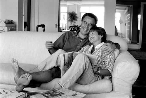 Katie Couric's first husband died of colon cancer in 1998. (Getty)