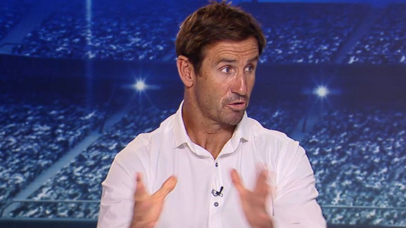 Andrew Johns shares radical referee, Golden Point shake-up idea