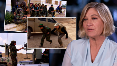 The female fighters who took on ISIS
