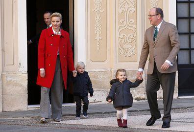Monaco royal family Christmas