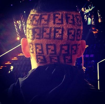 "Joel gets a bit 'fash' with some Fendi-inspired locks.<p>Image: Joel Madden/Instagram</p><P><br/><b><a href=""http://www.thevoice.com.au/"" >For the latest updates, visit The Voice official website.</a></b>"