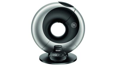 """Nescafe Dolce Gusto Eclipse Automatic Platinum Silver by De-Longhi, $349, <a href=""""https://www.dolce-gusto.com.au/machines/eclipse-automatic-platinum-silver-by-de-longhi"""" target=""""_top"""">dolce-gusto.com.au</a><br> <br>"""