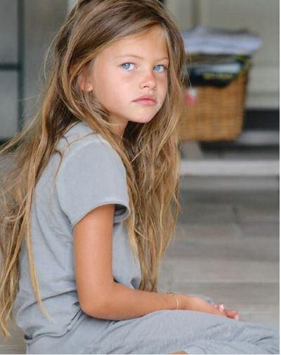 <p>Thylane Blondeau, age six, Paris, 2007<br> <br> </p>