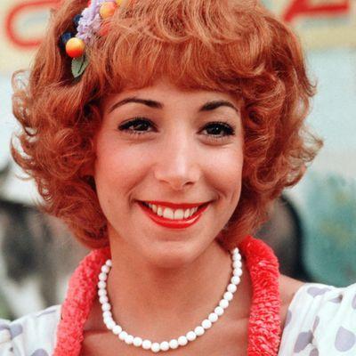Didi Conn as Frenchy: Then