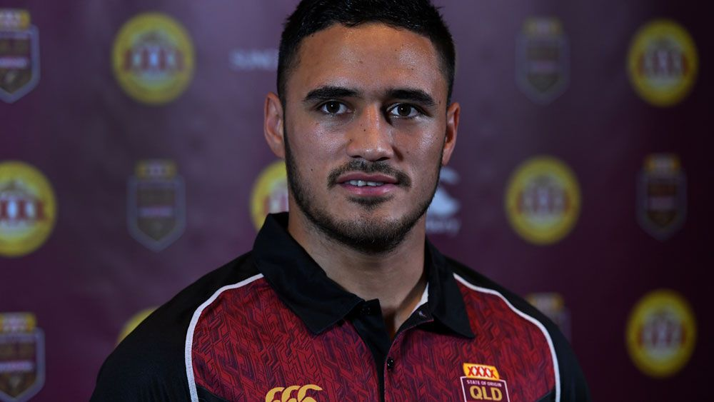 Queensland State of Origin ban best thing for me says Cronulla winger Valentine Holmes