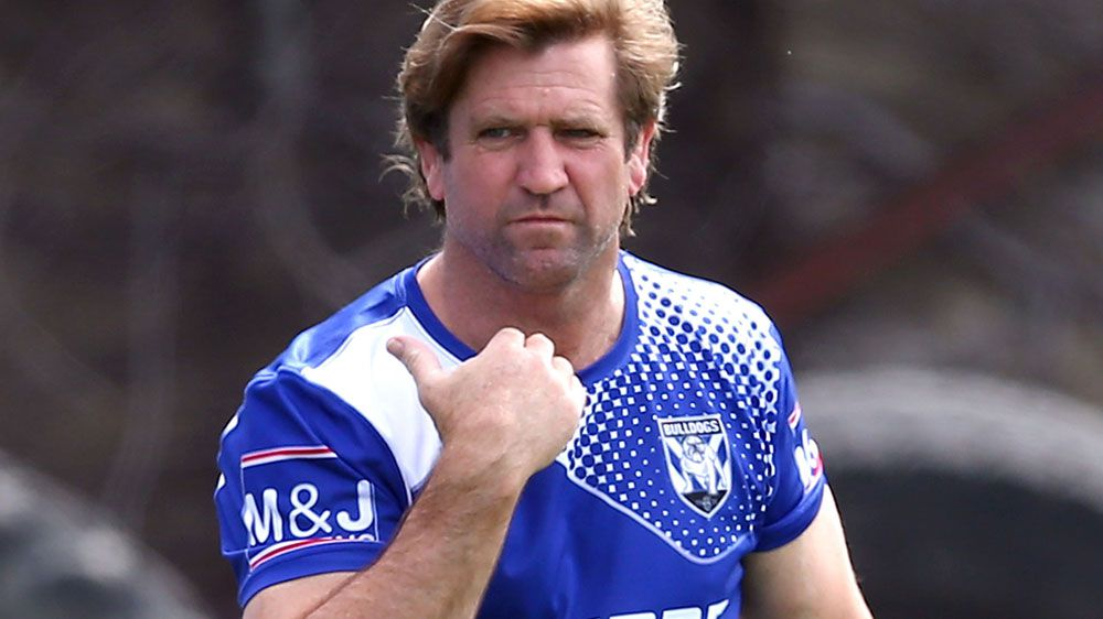 Hasler sues Bulldogs over NRL sacking