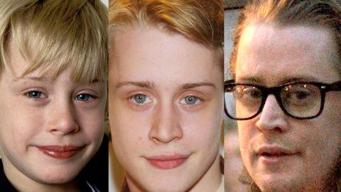 The evolution of Macaulay Culkin's face