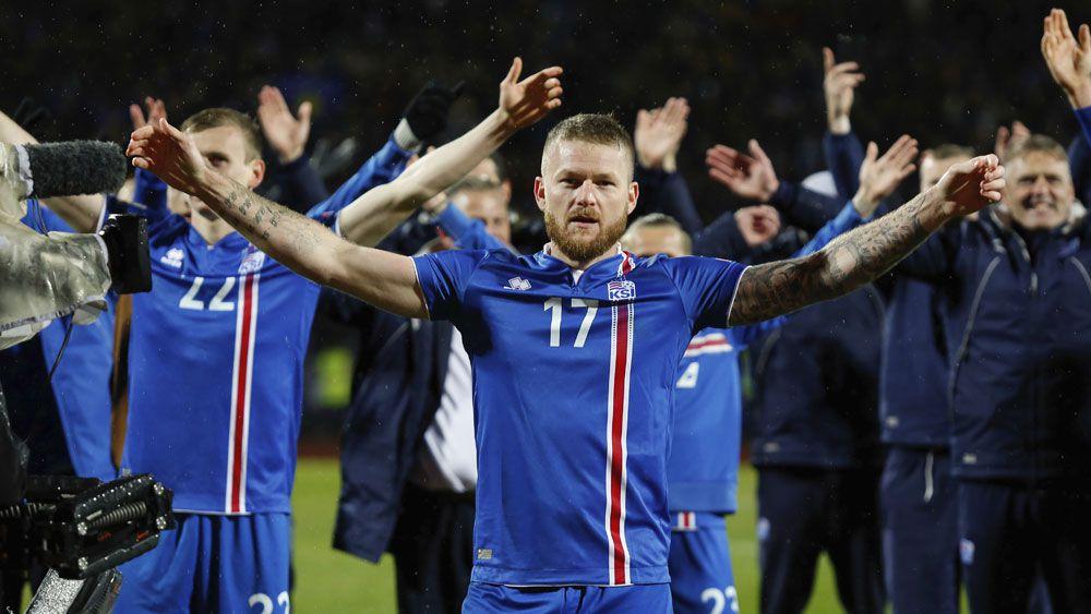 Iceland's viking clap.