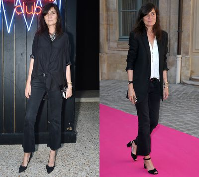<p>At Paris Fashion Week this month, Alt wheeled out a pair of cut-off, flared black jeans, and we could almost physically feel the fashion zeitgeist shifting toward the style. Watch this space...</p>