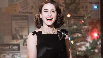 Rachel Brosnahan in 'The Marvelous Mrs. Maisel'.