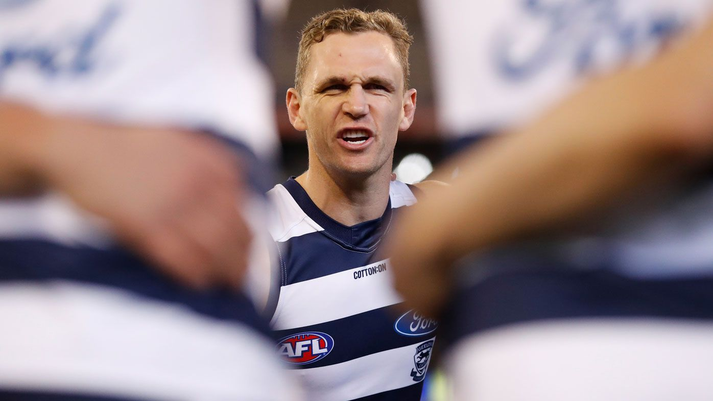 Joel Selwood of the Cats