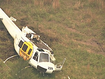 Firefighting chopper crash lands in NSW