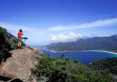 <p>Tasmania: Wineglass Bay to Hazard's Beach, 12km</p>