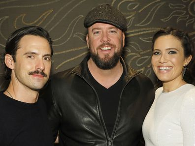This Is Us stars, Milo Ventimiglia, Chris Sullivan, Mandy Moore, NBCUniversal Holiday, 2017