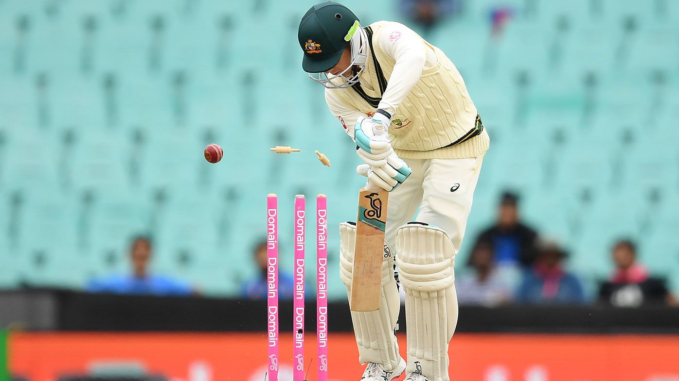 Aussies claim unwanted record as bad light cuts short SCG humiliation