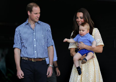 Prince George visited the zoo, his smile beamed around the world.