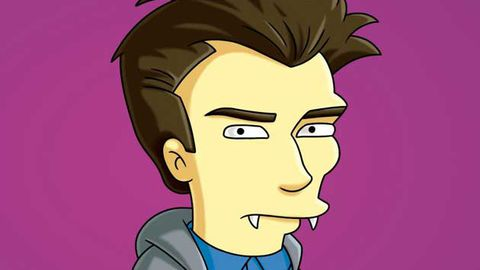 Sneak peek: The Simpsons spoof Twilight (with help from Harry Potter)