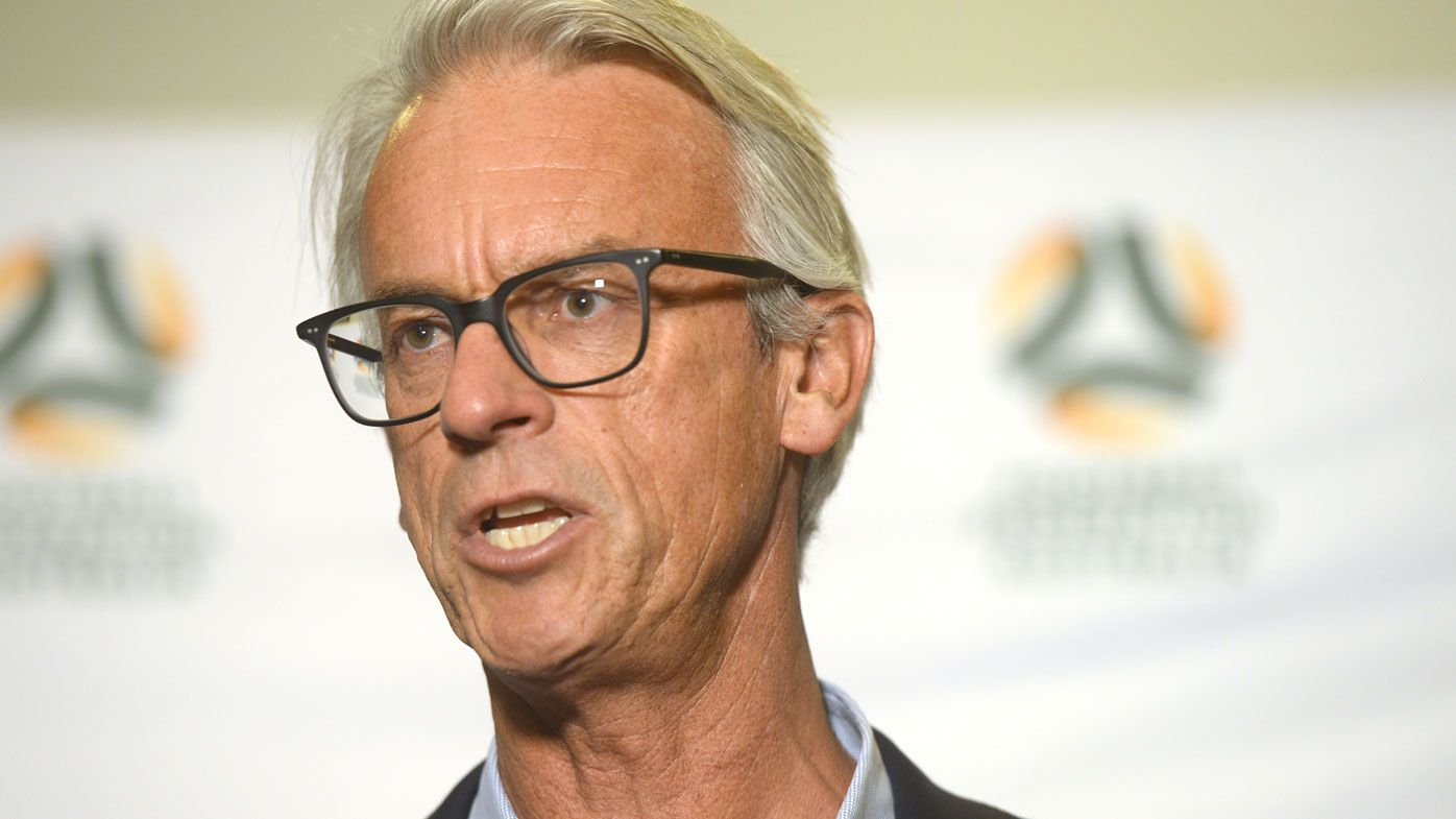 David Gallop resigns as FFA chief executive