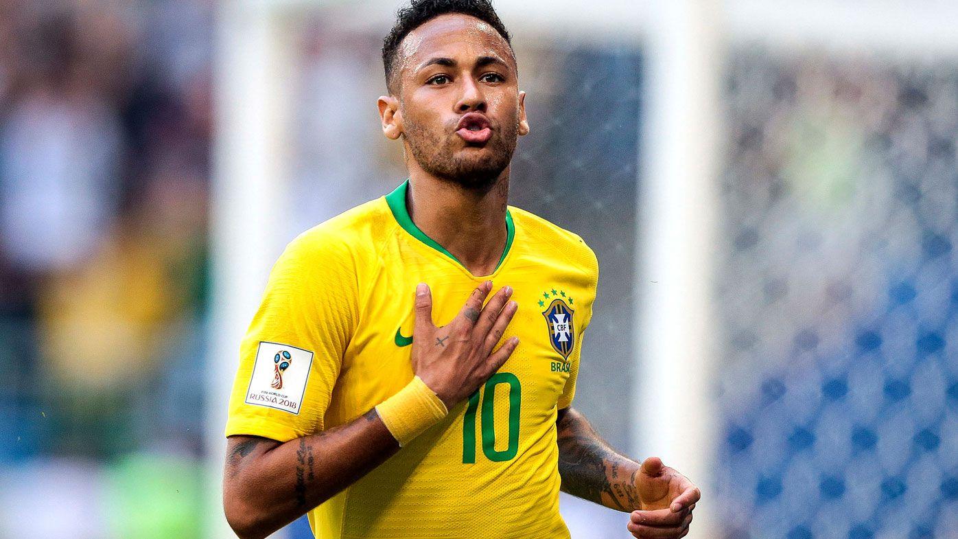Neymar stars for Brazil
