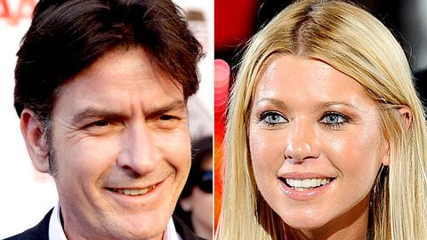Tara Reid wants to be on Charlie Sheen's TV show