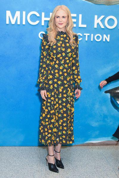 Nicole Kidman at the Michael Kors Spring 2019 show for New York Fashion Week, September 12, 2018