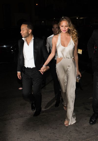<p>John Legend and Chrissy Teigen</p>