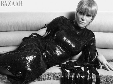 Jane Fonda was on this month's cover of Harper's Bazaar.