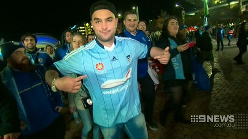 More than 80,000 fans are expected to pack into ANZ Stadium tonight. (9NEWS)
