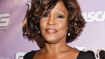 Whitney Houston pictured just days before her death in February 2012. (Getty)
