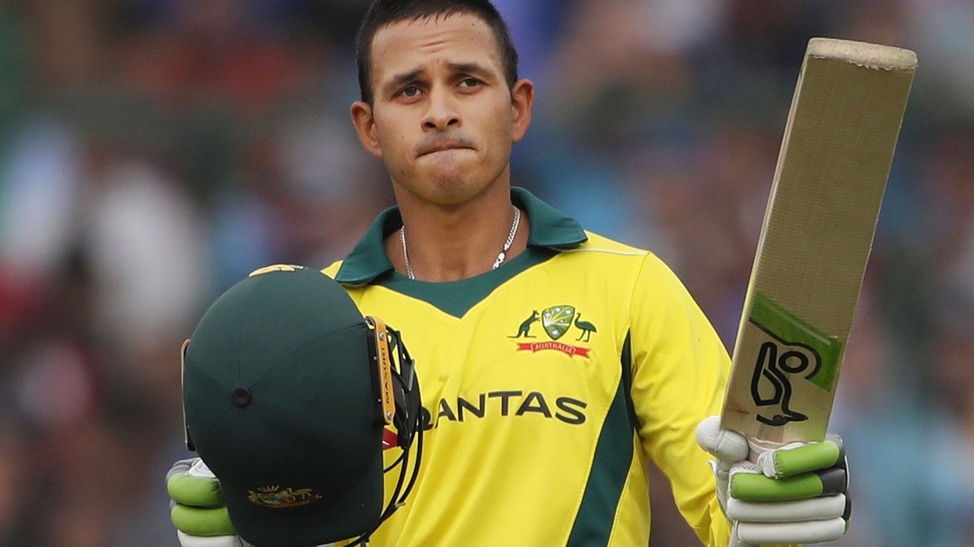 Usman Khawaja recorded his second hundred of the series in game five.