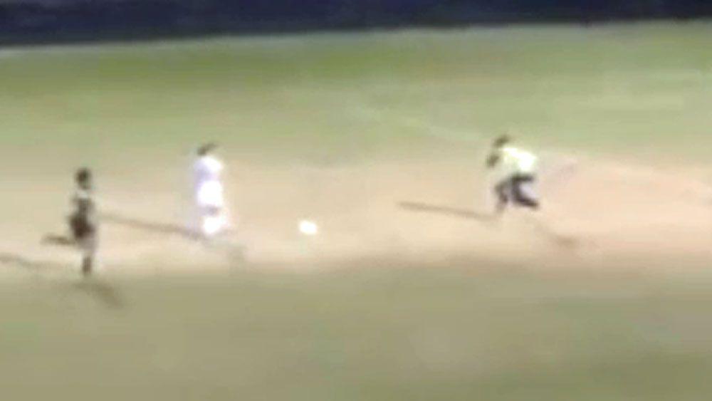 Female goalie faces suspension for brutal tackle