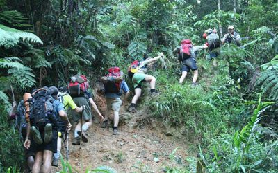 <strong>Walking the Kokoda track</strong>