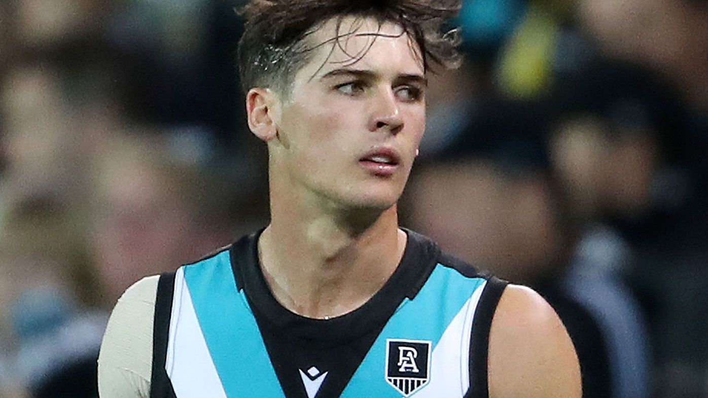 Connor Rozee in danger of being dropped despite 'honeymoon' start to AFL career