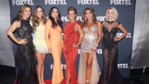 Real Housewives of Melbourne make flashy red-carpet debut